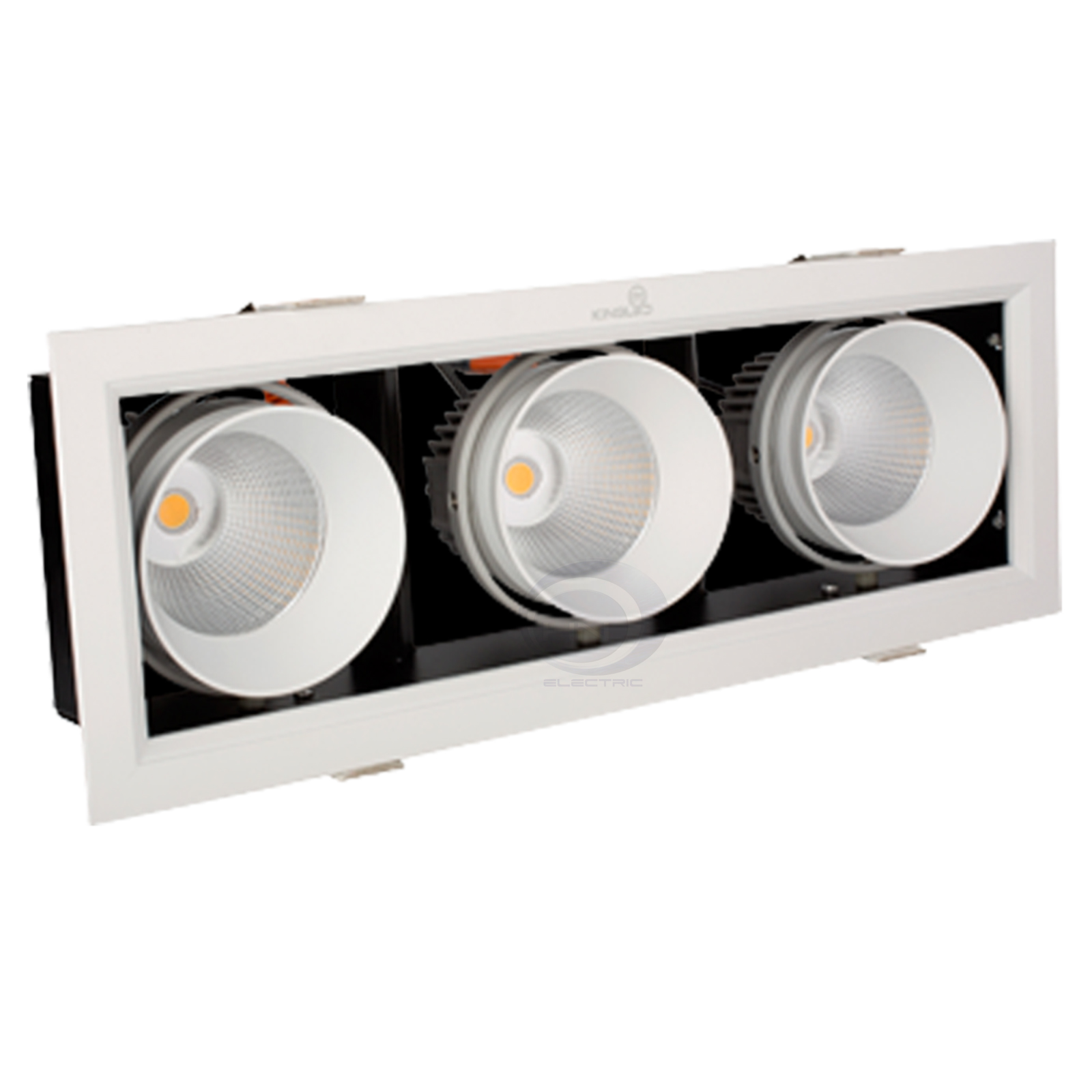 Đèn Led Spotlight GL Series âm trần 3x10W KingLed