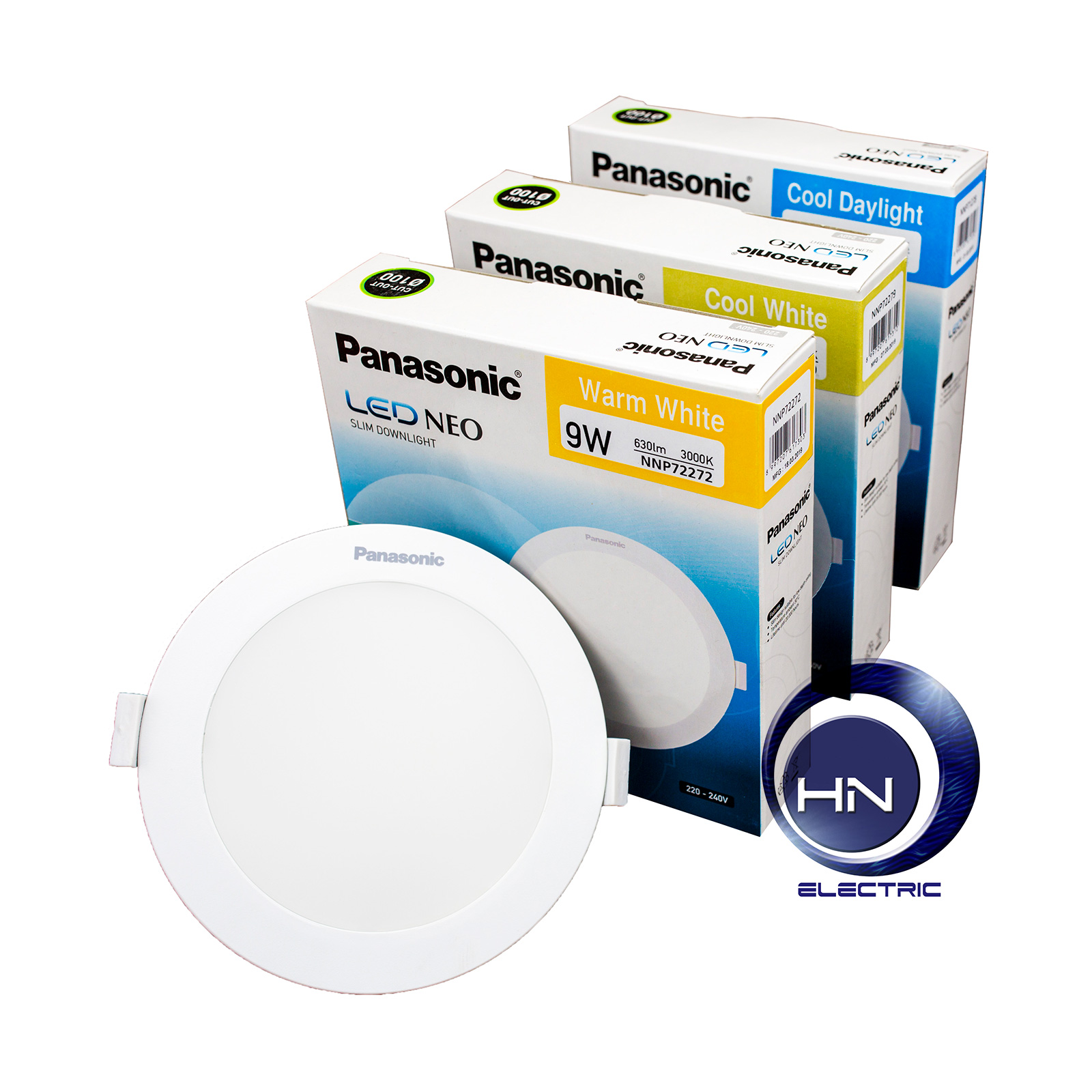Đèn LED NEO SLIM DOWNLIGHT 9W Panasonic