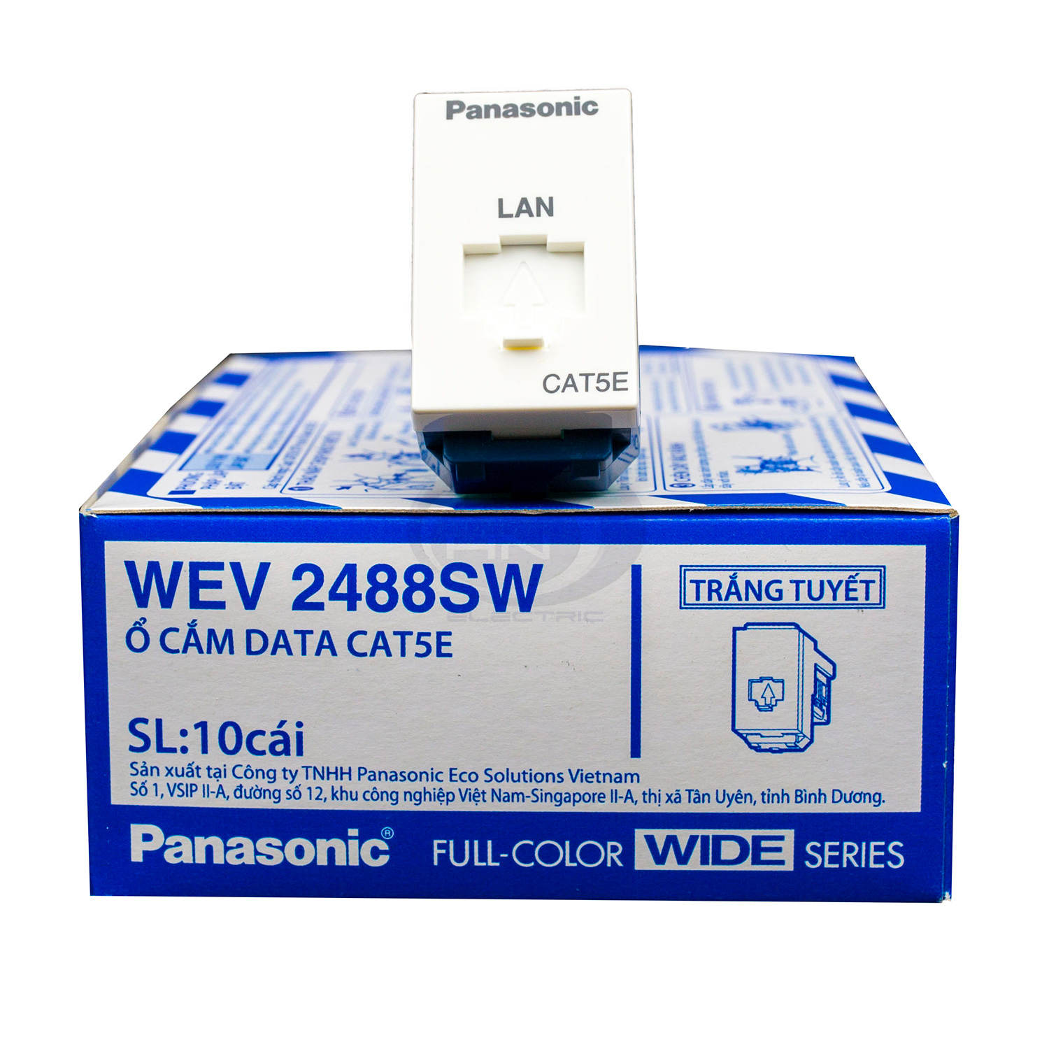 Ổ cắm data CAT5 WEV2488SW Panasonic